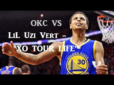 "Stephen Curry Career Vs OKC - Lil Uzi Vert ""XO TOUR LIFE"""