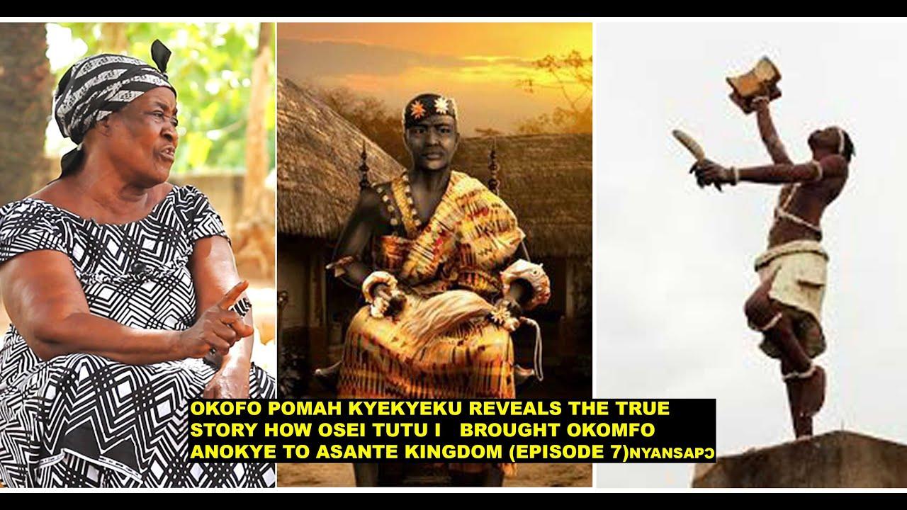 Download OKOFO POMAH  REVEALS THE TRUE STORY:HOW OSEI TUTU I   BROUGHT OKOMFO ANOKYE TO ASHANTI  KINGDOM EP 7