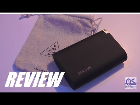 REVIEW: Solove Air 10000mAh QuickCharge Power Bank!