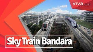 Skytrain Bandara Soekarno-Hatta Mulai Dipamerkan