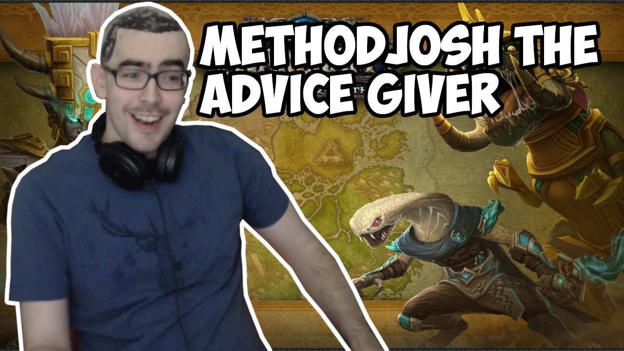METHODJOSH DISTRIBUTES SOME LIFE ADVICE TO HIS COMMUNITY!