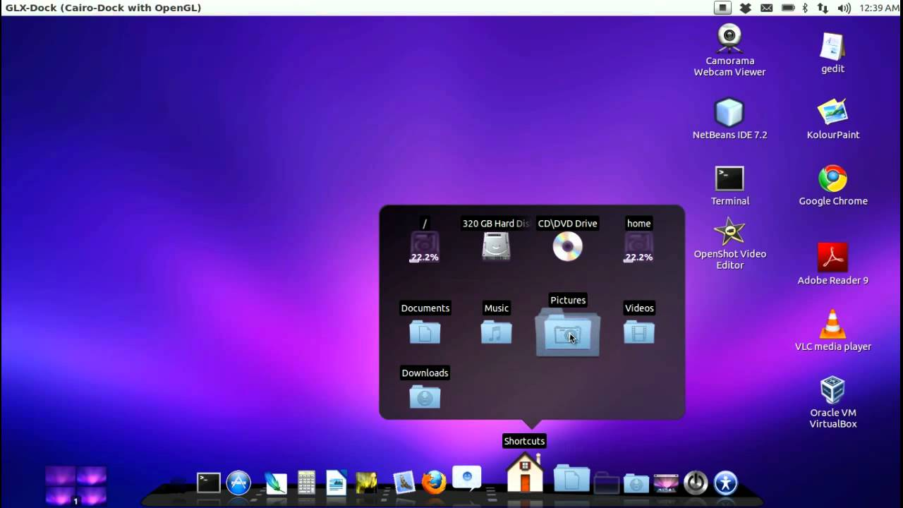 Mac OS X Lion theme on Ubuntu Linux