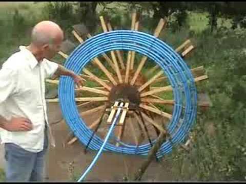 Waterwheel Pump Refurb Youtube