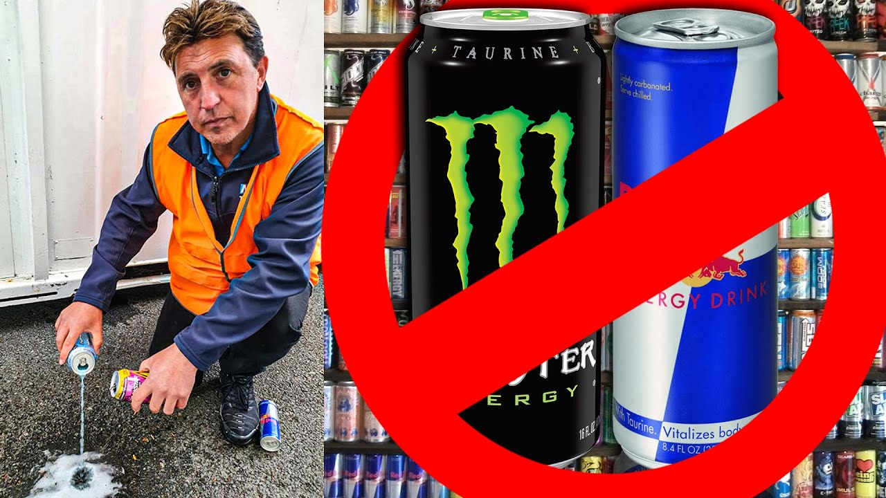 Heart Attack Survivor Who Had 12 Energy Drinks A Day Wants Them Banned To Kids
