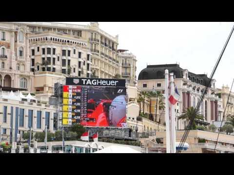 Formula 1 Practice 1, Monaco 2015, Tribune K
