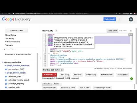 Learning BigQuery SQL · Coding is for Losers