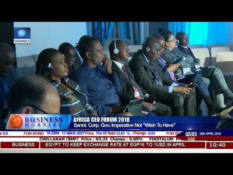 Highlights From The Just Concluded Africa CEO Forum Pt.1 |Business Morning|