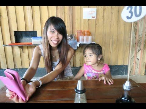 Santa Barbara Iloilo ~ I visit Nene and Gaile at the Plaza ~ Video 2 of 2 ~ Philippines