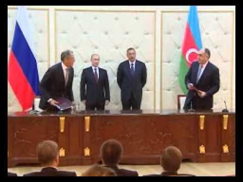 Putin Azerbaycan'la ticaret hacmimizin artması sevindirici