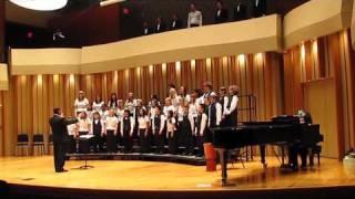 Praetorius, Psallite (Sing, Rejoice).  Colburn Children