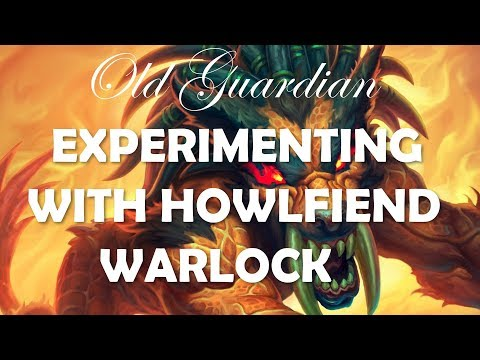 Experimenting with Howlfiend Control Warlock (Hearthstone Rastakhan deck)