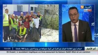 نقاش على المباشر..حملة نظافة عبر مختلف ولايات الوطن..شكرا لكم يا شباب الجزائر