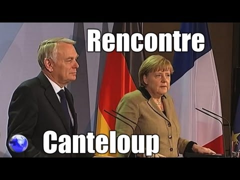 Ayrault-Merkel : La rencontre Canteloup