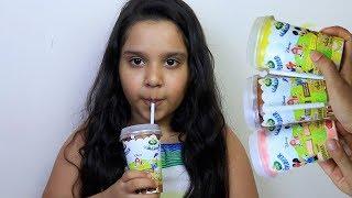 Fingers Family Kid Song Colorful milkshake  Cute shfa and kid