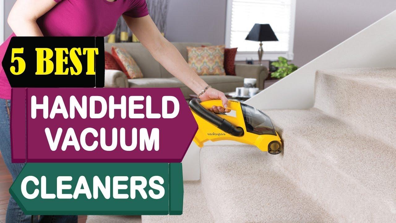 94ba8aec16d 5 Best Handheld Vacuum Cleaners 2018