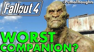 Who is the Worst Companion or Follower in Fallout 4 Survival PumaThoughts