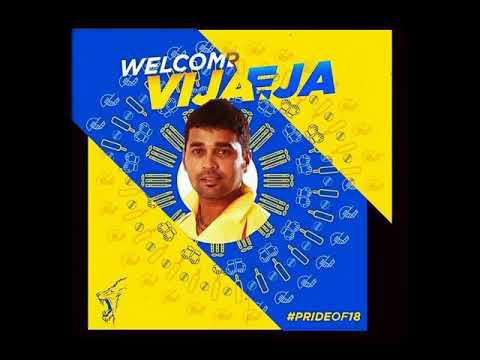 IPL 2018 Chennai Super King Team Squad