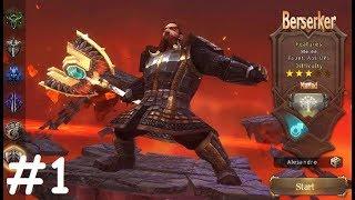 Mia Online #1 Gameplay Обзор Первый взгляд Летсплей (Android,APK) Игра за Berserker
