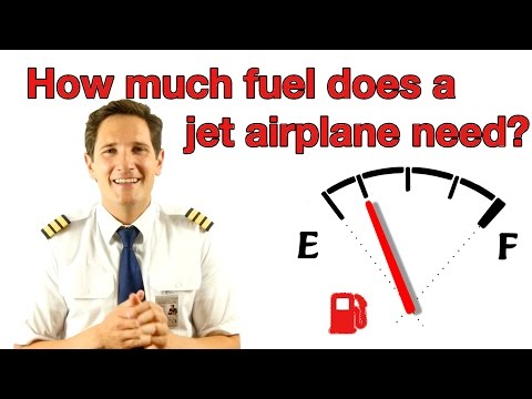 How much fuel does a jet airplane need? Explained by Captain