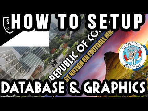 How to Setup The Mad Scientists new FM21 Database and Graphic pack | Cospeia database