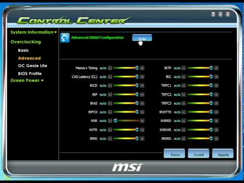 MSI 870A-G54 (FX) CONTROL CENTER DRIVERS FOR WINDOWS MAC