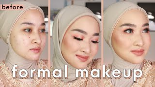 Engagement / Graduation /  bridesmaids Makeup w/ Drugstore & Local Products |Makeup Lamaran / Wisuda