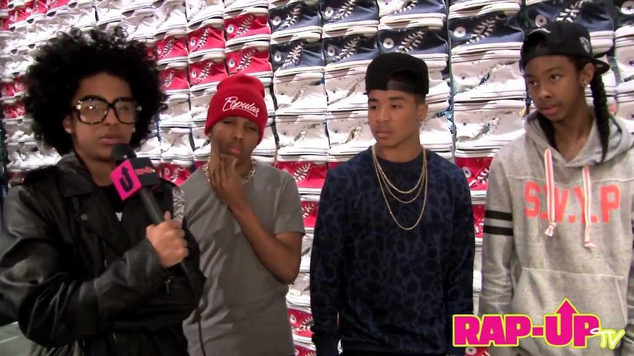 Mindless Behavior Shares Their Love for Rihanna