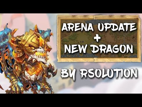 Castle Clash : NEW UPDATE ! New Dragon And Arena Update!