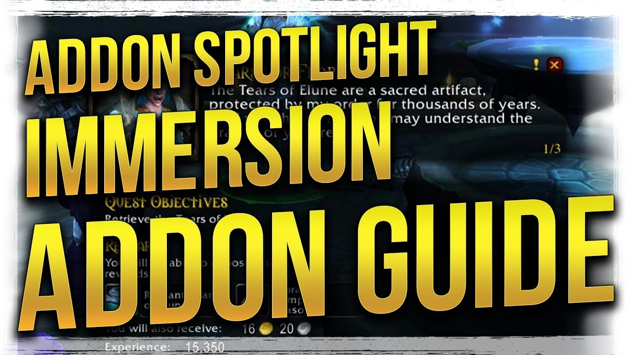 WoW: Immersion Quest Addon Spotlight Guide