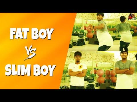 Fat Boy Vs Slim Boy | Funny Comparisons Of...