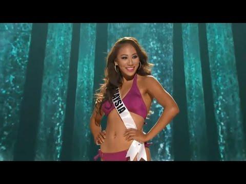 Miss Universe Malaysia 2015 Vanessa Tevi at Miss Universe 2015, Las Vegas