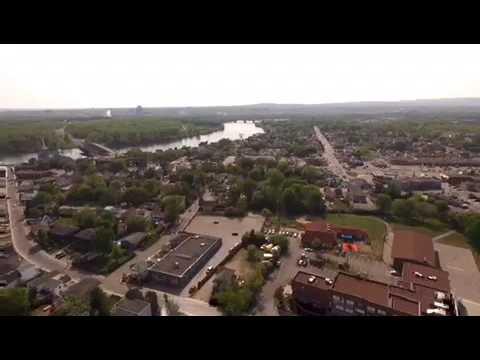 Vue Aérienne De La Ville De Gatineau.