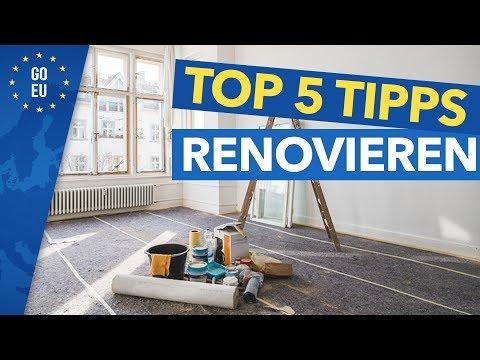 TOP 5 Tipps Immobilie (Wohnung) Renovieren! (Günstig Kaufen - Sanieren - Teurer Verkaufen)