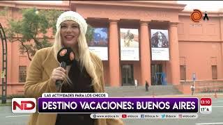 Vacaciones de inverno: destino Buenos Aires
