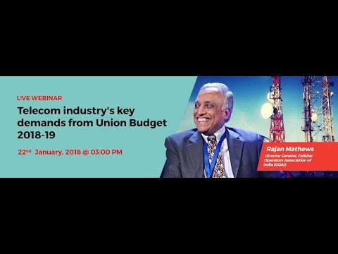 Telecom Industry's Key Demands From Union Budget 2018-19