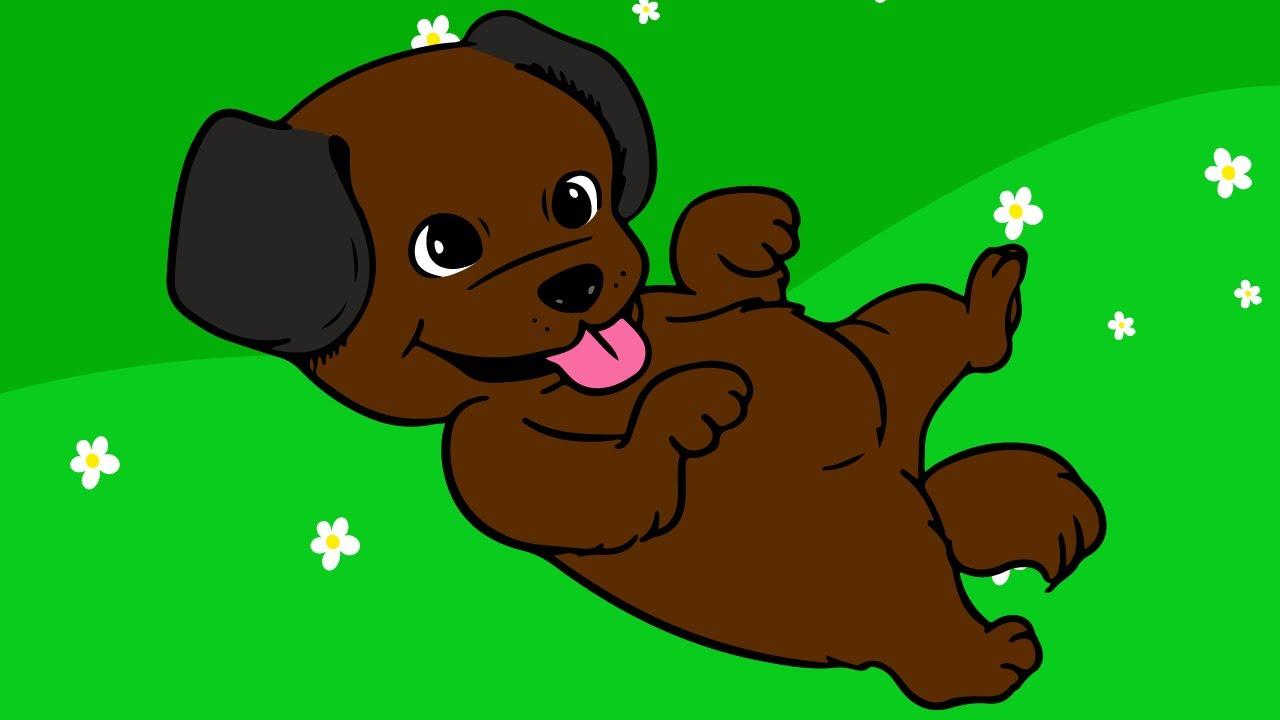 Мультик для Детей про Домашних Животных - Собака. Развивающий Мультфильм для Малышей. Видео для Дете