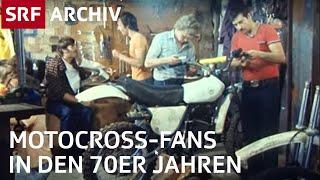 Motocrossfans in der Schweiz | Motorradsport | SRF Archiv