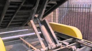 POE Hydraulic Scissor Dump Trailer