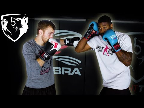 "Boxing ""Partner Reaction"" Drill for Head Movement & Accuracy"