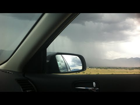 Rain sounds for sleeping. Rain in car , rain on car roof