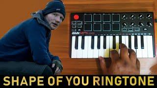 Shape Of You' Ringtones ( AkaiMpkMini Cover By Raj Bharath ) Ed Shereen