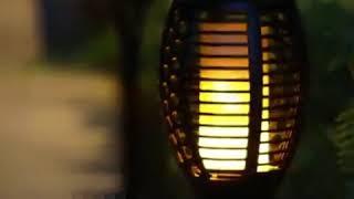 Flame Fire Effect Solar Outdoor Lighting - Great Glow