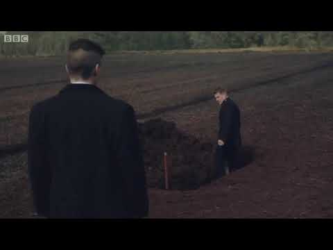 Peaky Blinders - Tommy Shelby Nearly Killed - Grave Scene - Series 2, Episode 6
