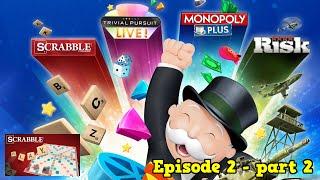 Hasbro Family Fun Pack episode 2 - Scrabble part 2 (Challenge Mode)