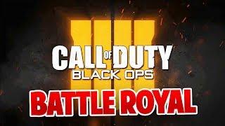 BATTLE ROYALE & PAS DE SOLO SUR BLACK OPS 4 ? (BO4 NEWS)