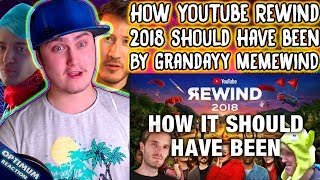 How YouTube Rewind 2018 should have been | Reaction | Memewind