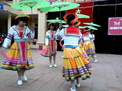 Múa Đi Học Xa, giải Nhất văn nghệ THPT Hưng Hoá -   A3 ( khoá  2013-2016)