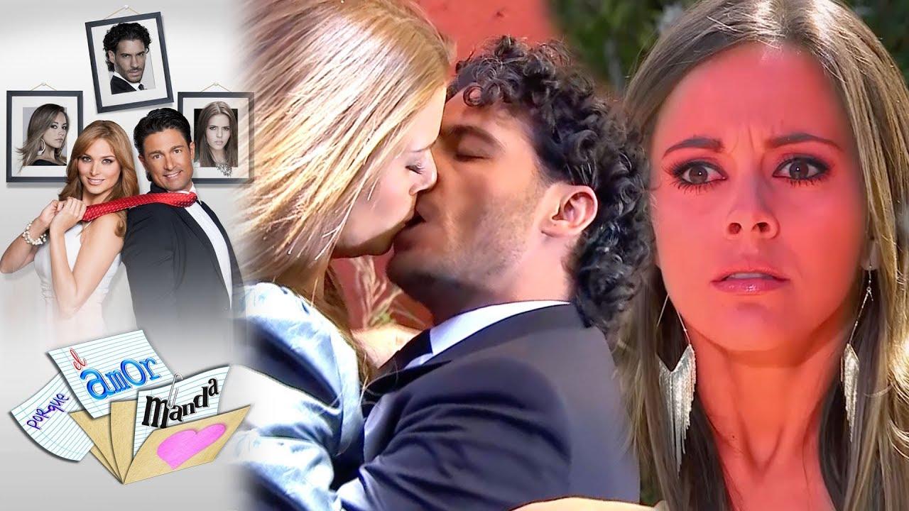 Porque el amor manda - Capítulo 50: ¡Rogelio y Verónica se besan! -  Tlnovelas