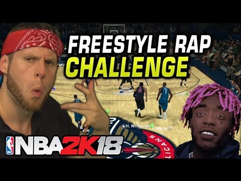 Freestyle Rap Only Challenge - NBA 2K18