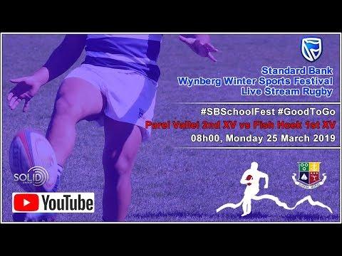 Game 15: Parel Vallei 2nd XV Vs Fish Hoek 1st XV